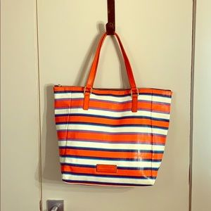 Marc By Marc Jacobs striped beach bag